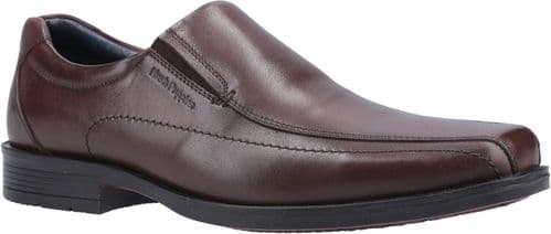 Hush Puppies Brody Lace Mens Shoes Chocolate